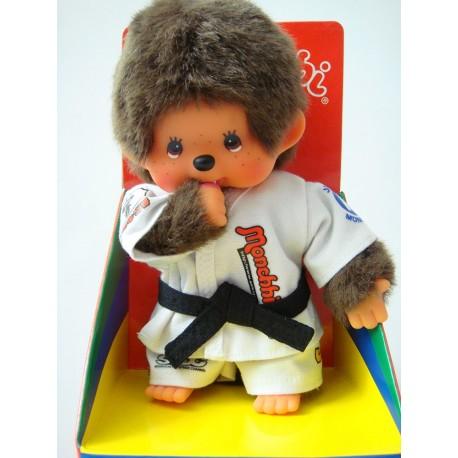 Maskotka małpka monchhichi chłopiec JUDOKA